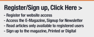 Register to sign up for a magazine