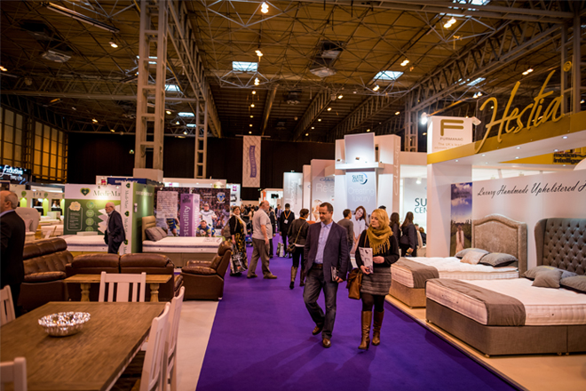 January Show 39 S Largest Hall Bolstered Furniture News Magazine