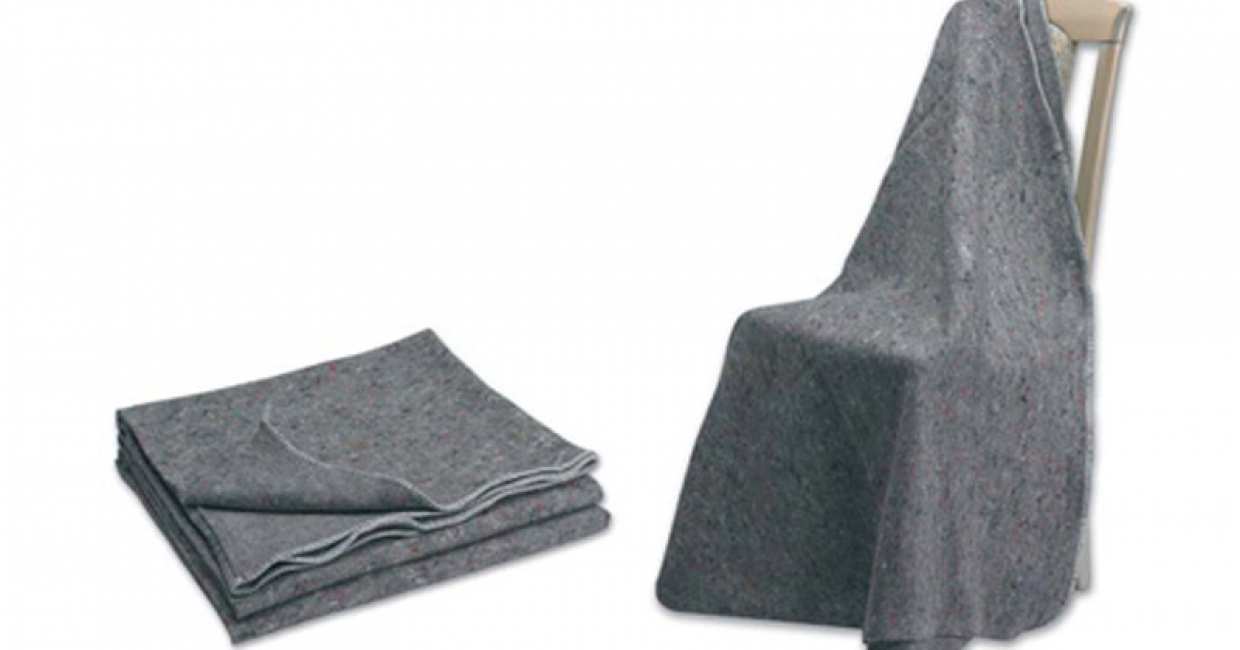 Furniture Blankets, Webbing and polythene bags