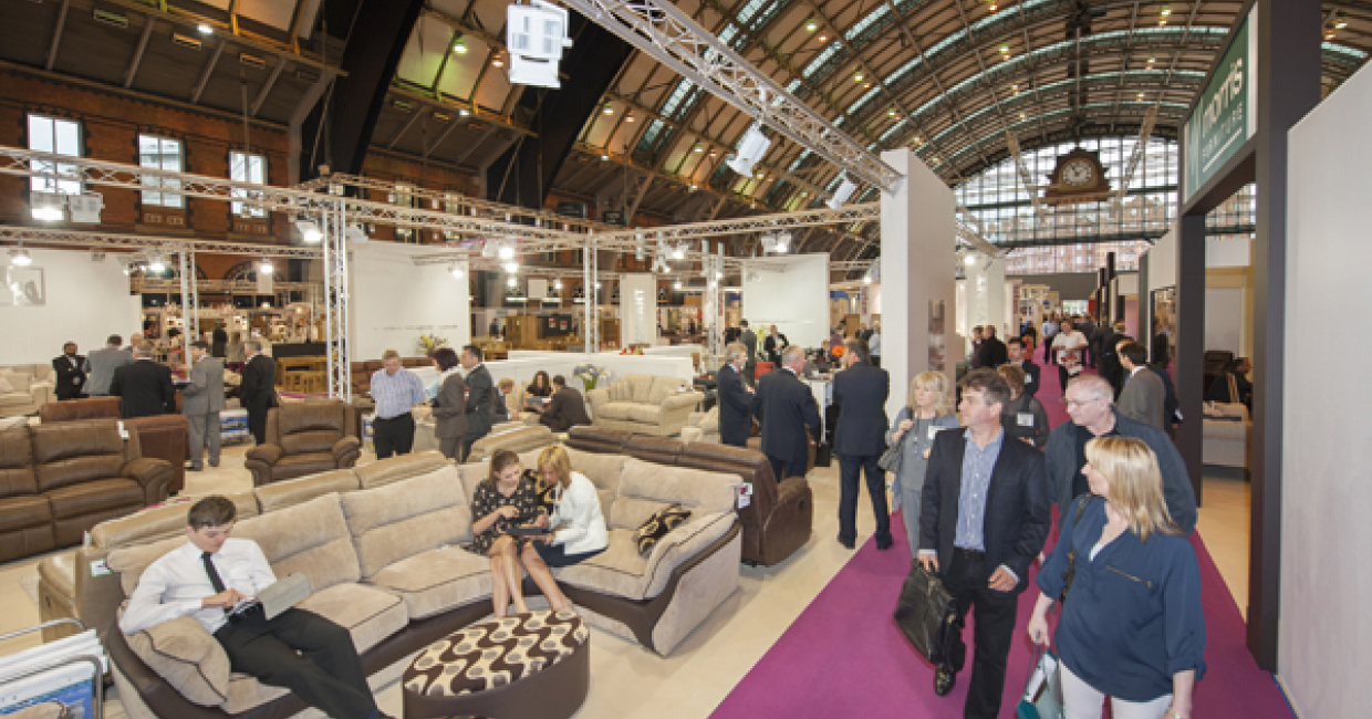 Stage set for manchester fair furniture news magazine for Furniture exhibition