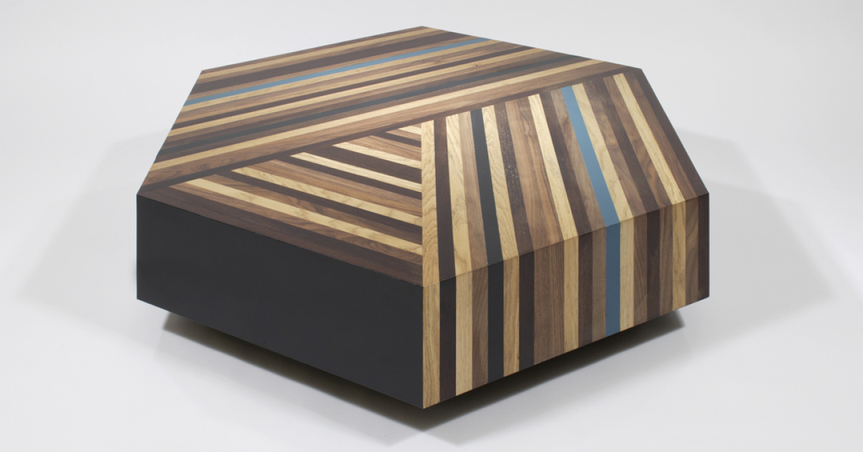 Parquetry coffee table, Lee Broom