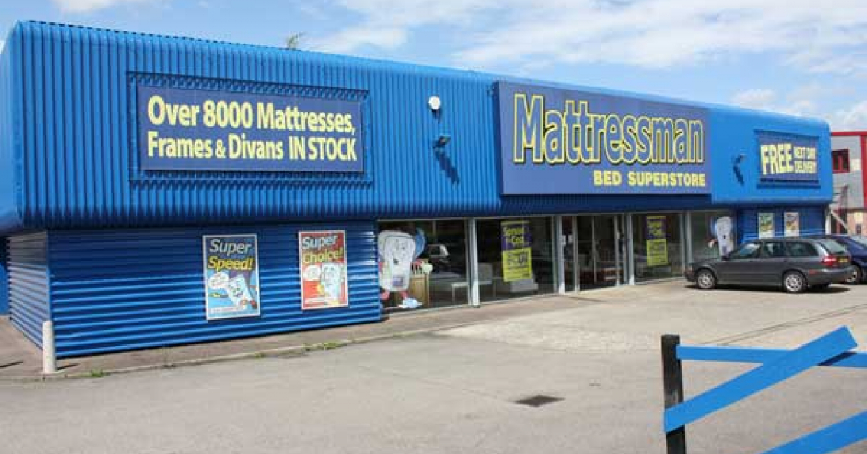 Mattressman's Roundtree Way store in Norwich