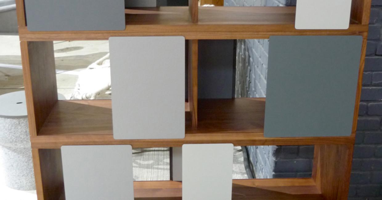 Different Trains cabinet by Matthew Hilton, manufactured by De La Espada