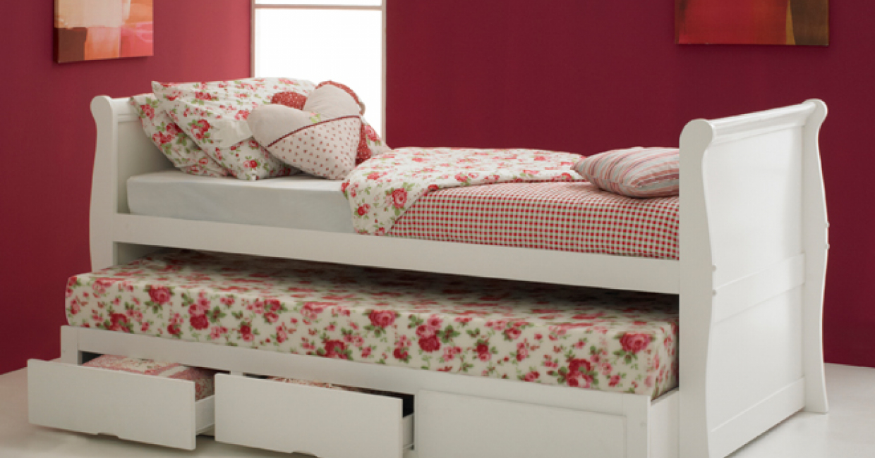 Pulka sleigh bed, Hyder Living