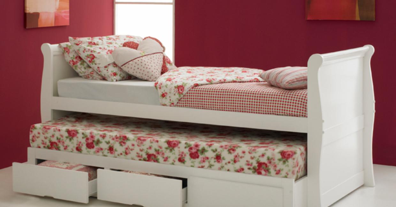 Pulka sleigh bed, Hyder Living