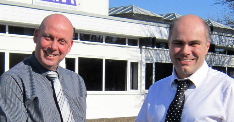 Richard Whitbread, technician manager for FIRA Service Technicians, and Darren Colvin, technician supervisor
