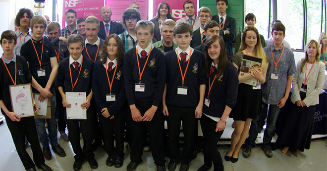 Winners of MakeIT! schools competition 2013 announced   Furniture