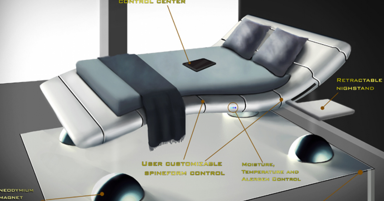 Carpetright's Bed of the Future