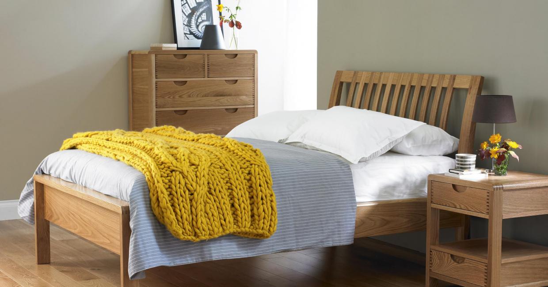 ercol's Bosco bedroom is a popular Furniture Village range