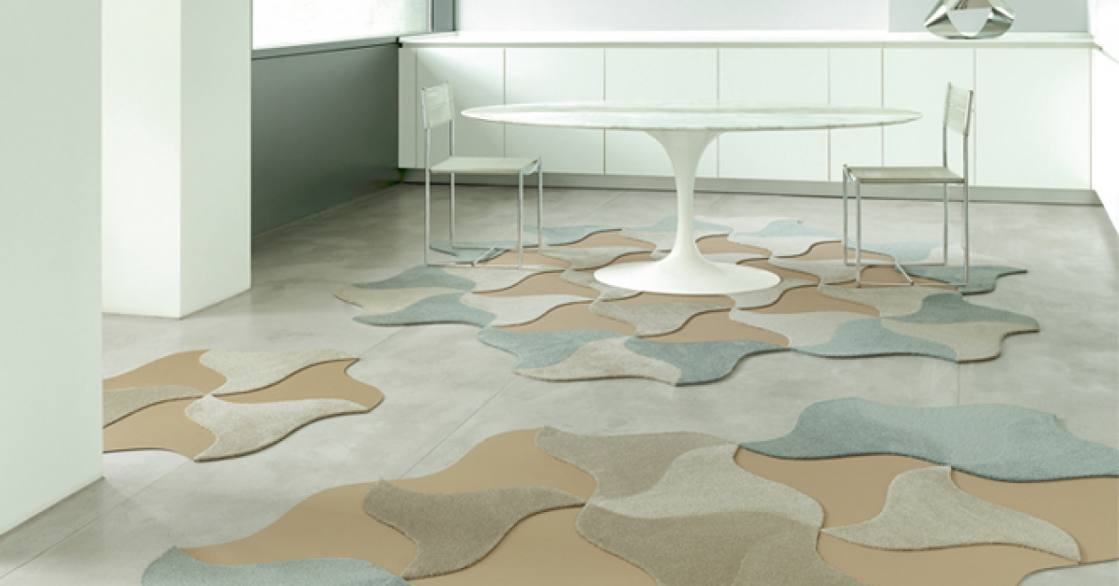 Bloom, from Vorwerk Carpets' Scale Living collection, exclusively available through Flair Rugs