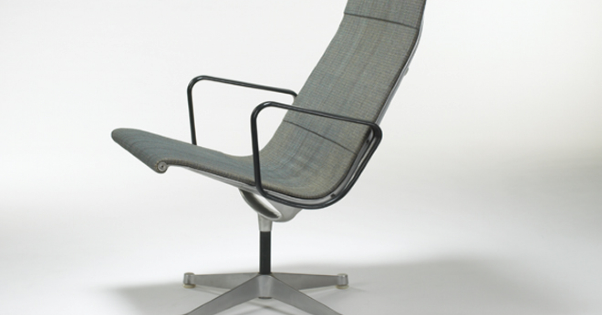 Aluminum Group lounge chair – courtesy Wright, Chicago