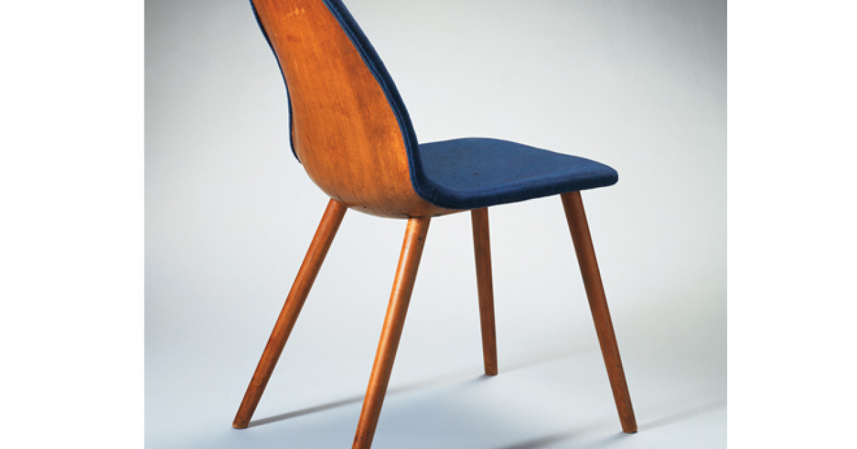 Side chair for MoMA competition, courtesy Wright, Chicago