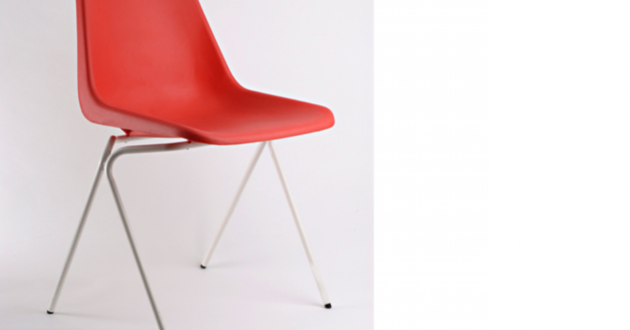 Polypropylene chair – Fiell Archive, London, photo by Paul Chave