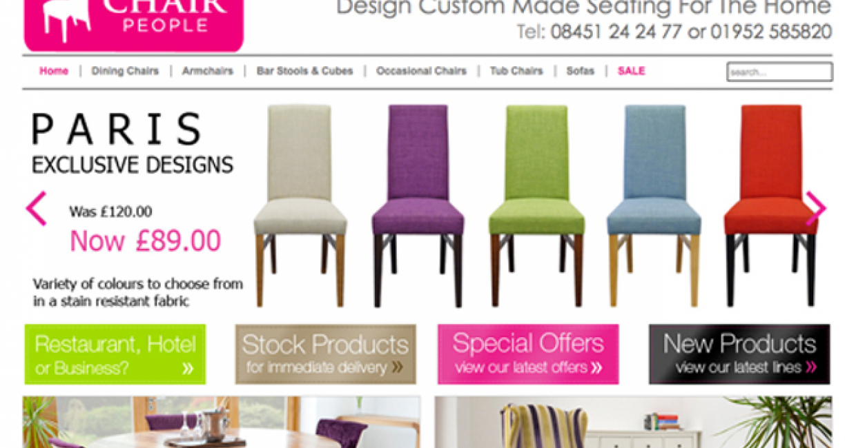 Chair Sales Soar Thanks To U0027design Your Ownu0027 Service
