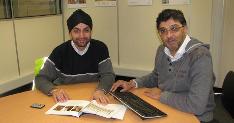 Jaswinder and Ashraf