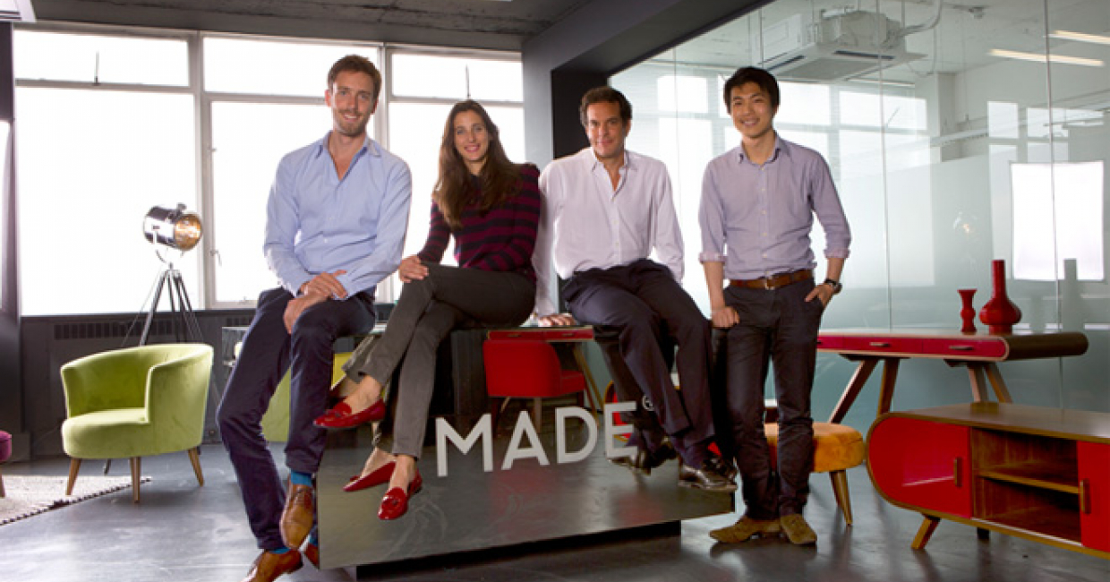 Co-founders Julien Callede, Chloe Macintosh, Brent Hoberman and Ning Li