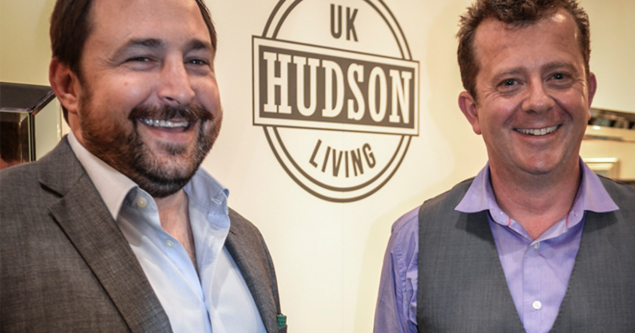 Peter Delaney and James Hudson launch the Hudson Living Collection