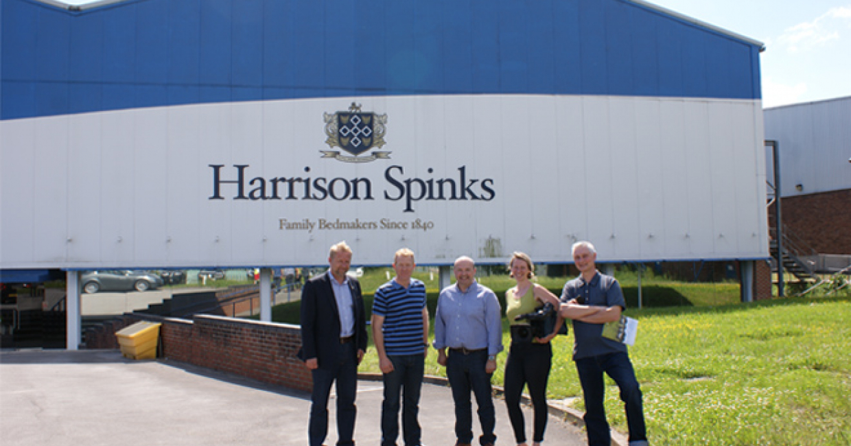 Harrison Spinks Has Been Chosen By The Prestigious Sunday Night Program  Countryfile To Feature As A Great Example Of A UK Company Using British  Wool In The ...