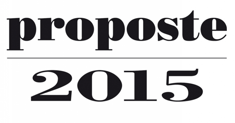 Proposte 2015