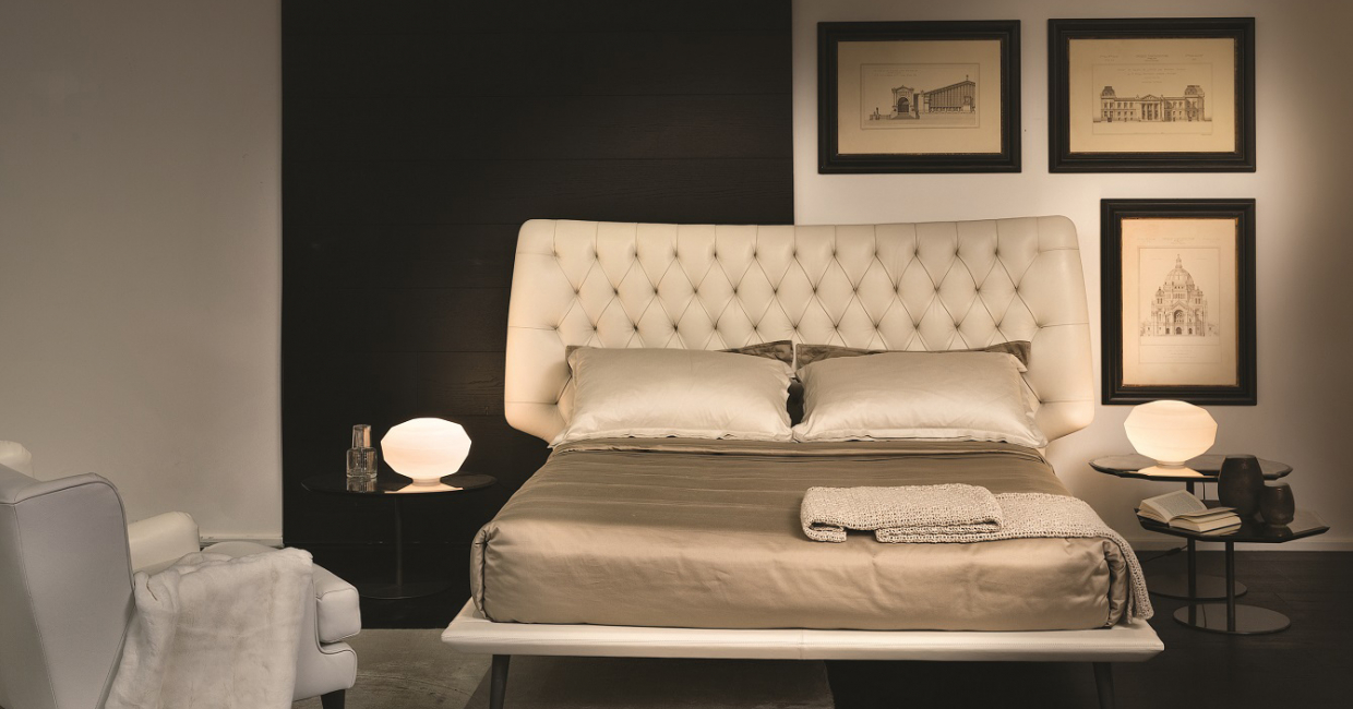 Dolce Vita, part of the new bed offering from Natuzzi Italia