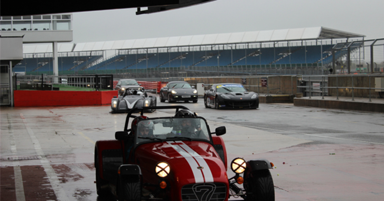Competition winners enjoy racing masterclass at Silverstone