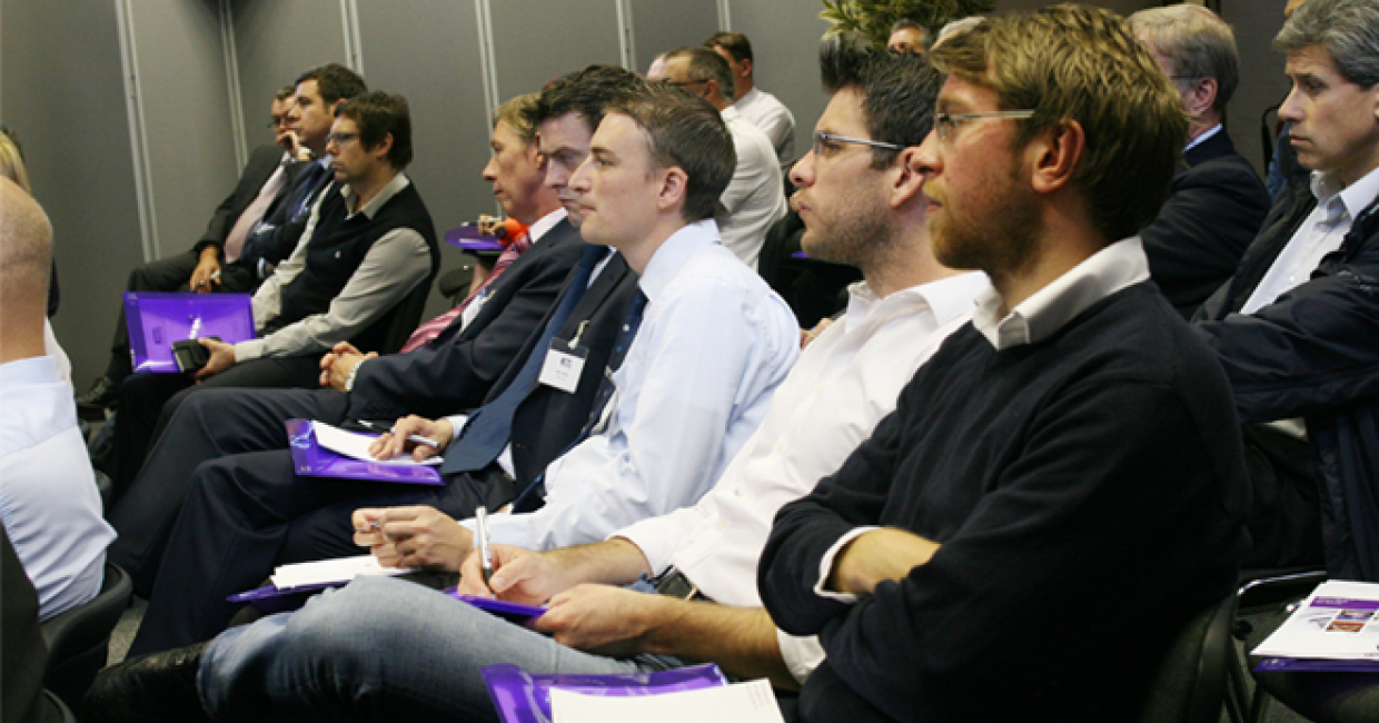 A technical forum at FIRA's headquarters