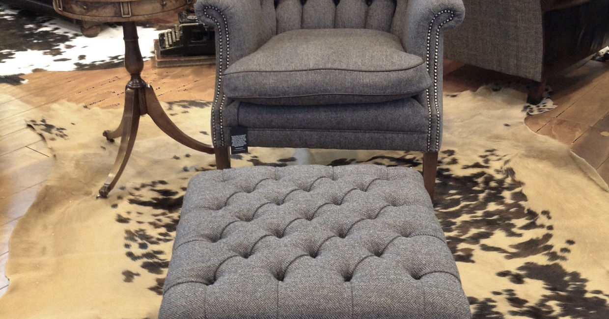 Tetrad and Harris Tweed defining the best of British at The Furniture Show