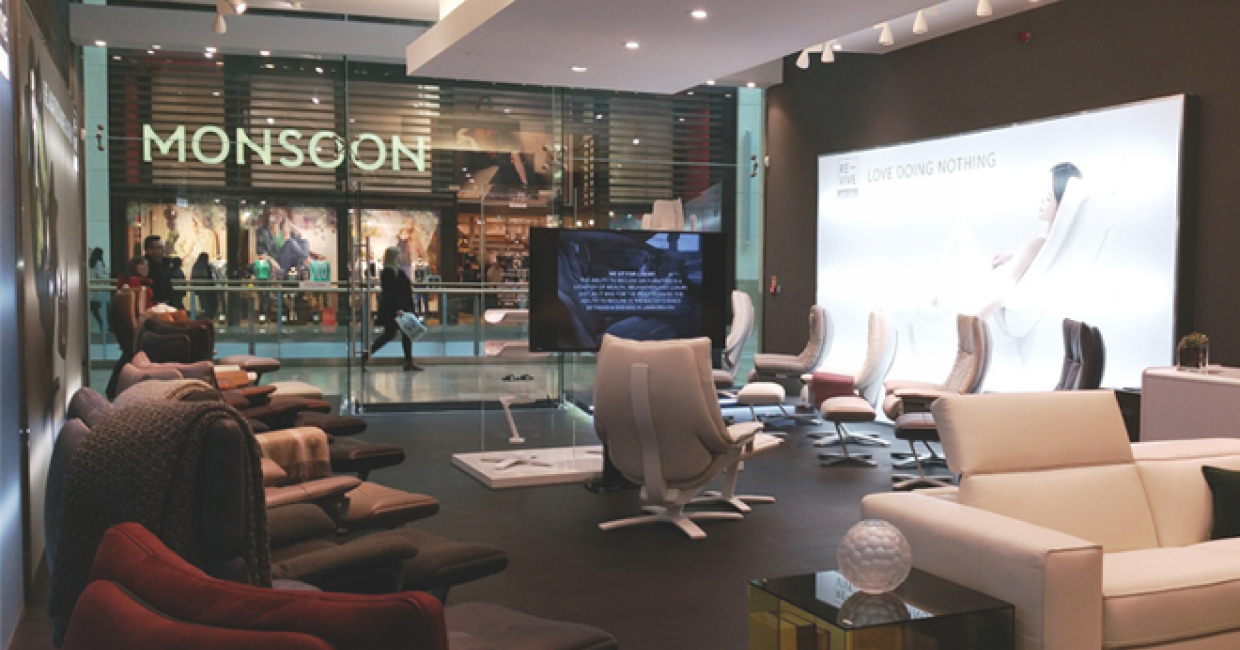 Natuzzi opens Re-vive pop-up store in Cardiff