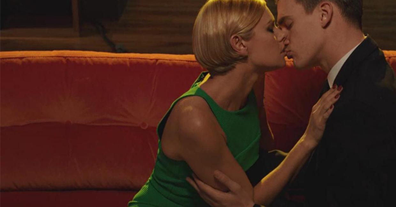 The kiss, Habitat's first TV ad
