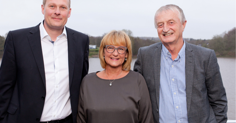 Torben Villadsen, Susanne Dahl Jepsen and Lars Larsen
