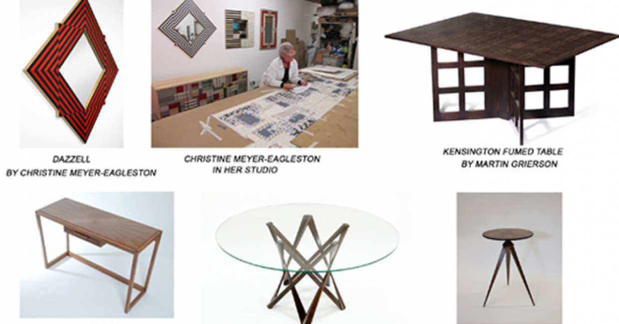 Exhibition to display the work of furniture designer for Arts and crafts furniture makers