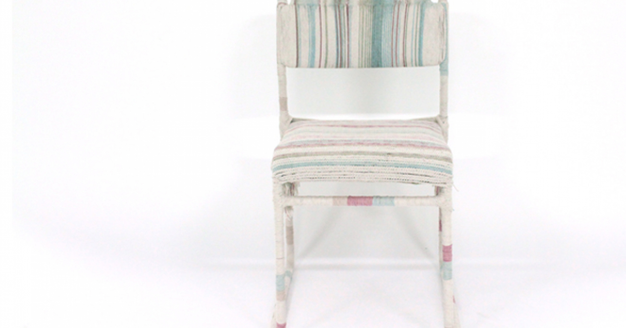 Macramé chair, Becks Sunderland
