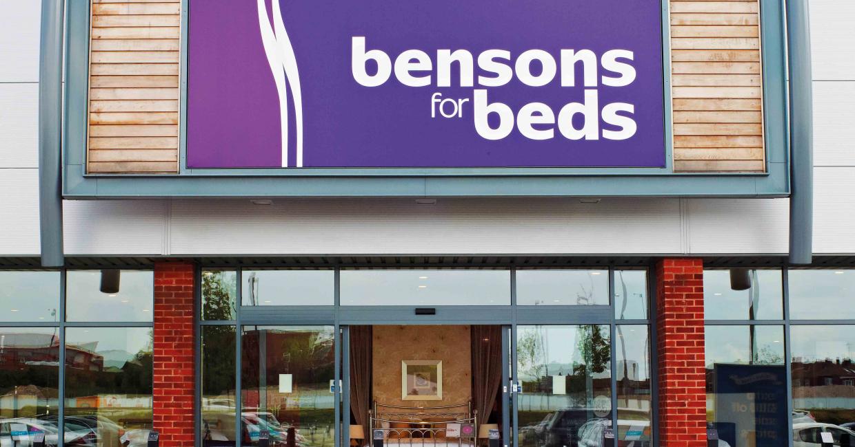 behind bensons md alan williams on bed retail. Black Bedroom Furniture Sets. Home Design Ideas