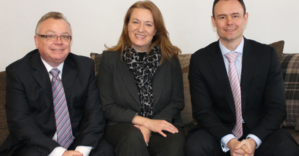 Kevin Royal, Marie Liston and Chris Muir