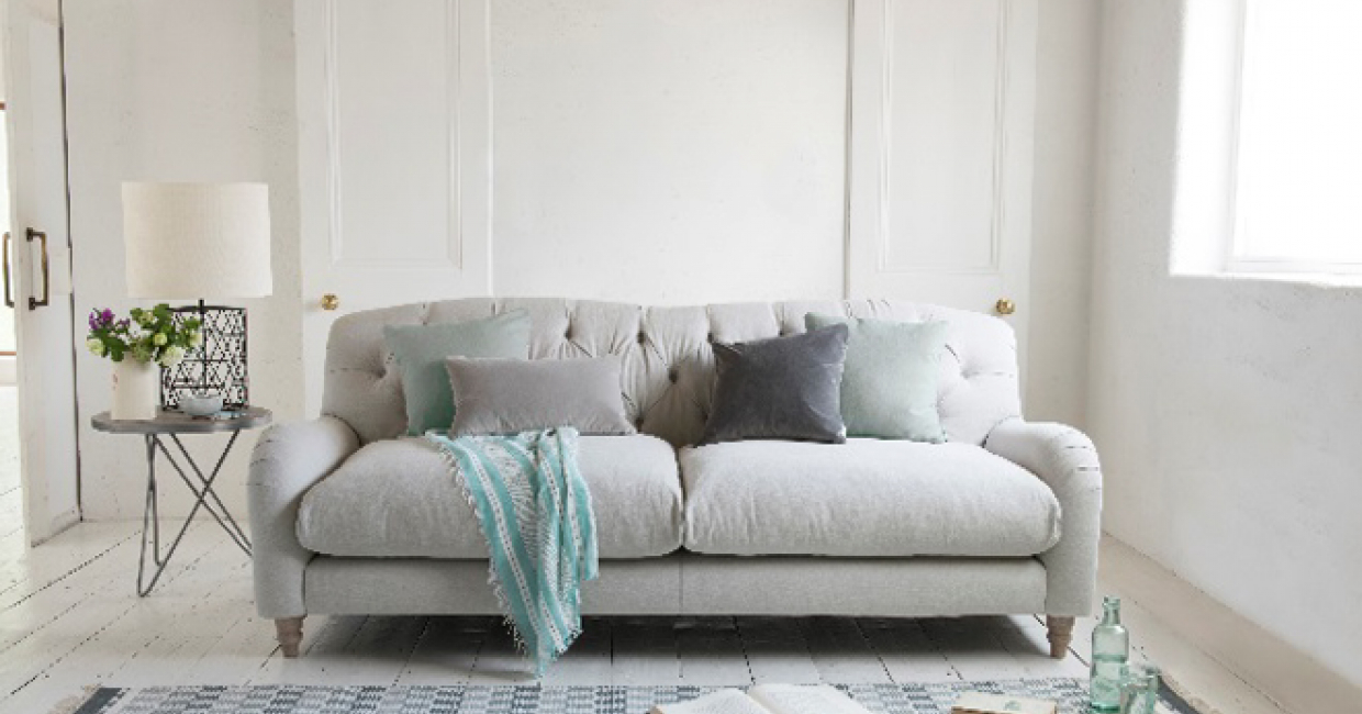 John Lewis Has Collaborated With Furniture Company Loaf To Introduce Three Exclusive Sofas And Two Footstools Available In A Choice Of 22 Fabrics