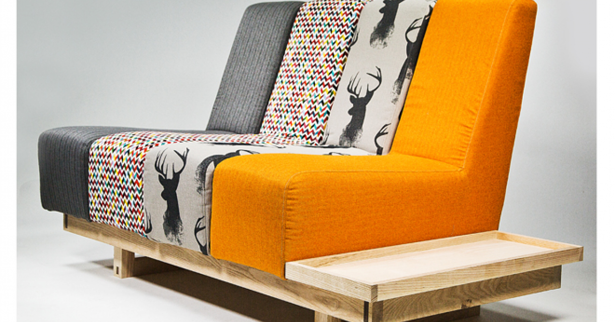 Matthew Pope Created The Modular Addax Sofa As Part Of His Degree In Furniture And Design At Nottingham T Universi