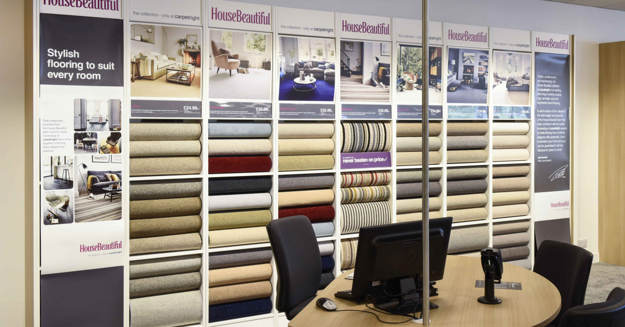 Brands and exclusive offers ensure Carpetright offers something for every customer