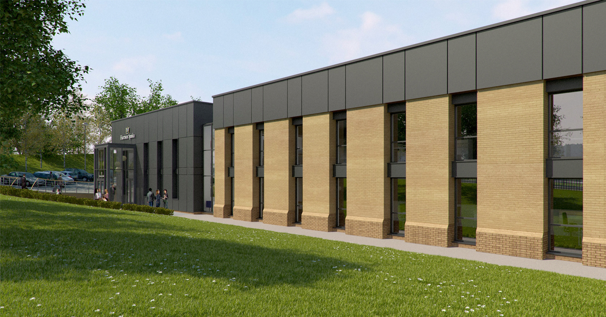 An artist's impression of Harrison Spinks' planned facility