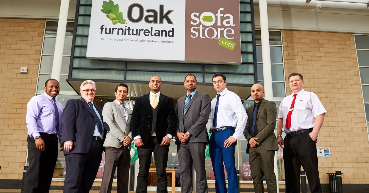 Oak Furniture Land Opens First Showroom In Brent Cross