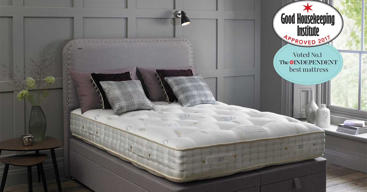 Wonderful Sleep Expert Duvalay Has Secured The Good Housekeeping Institute (GHI)  Approved Endorsement For Its Best Selling Mattress, The Diamond.