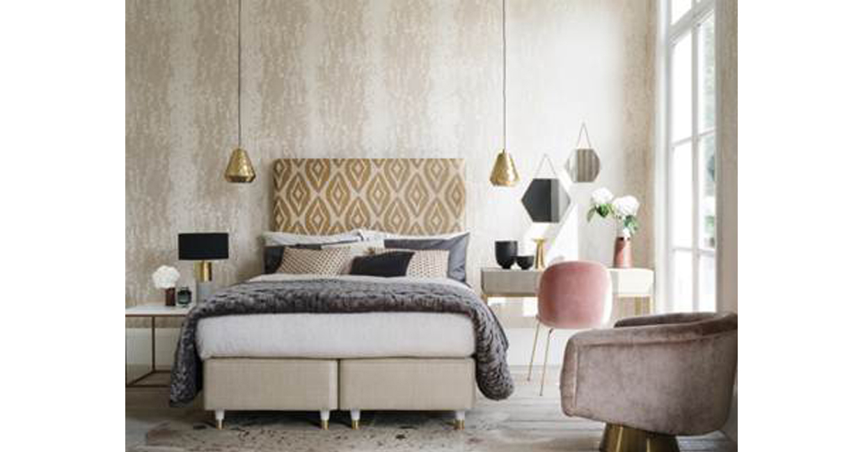 Furniture Village Beds hypnos and amira hashish collaborate with furniture village