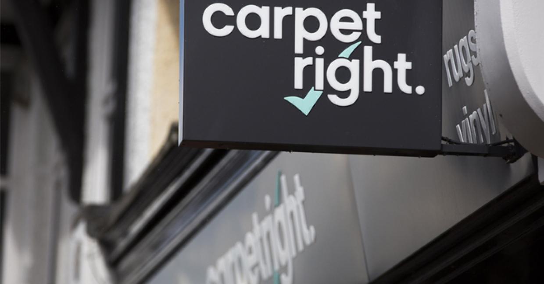 Carpetright shares drop on profit warning