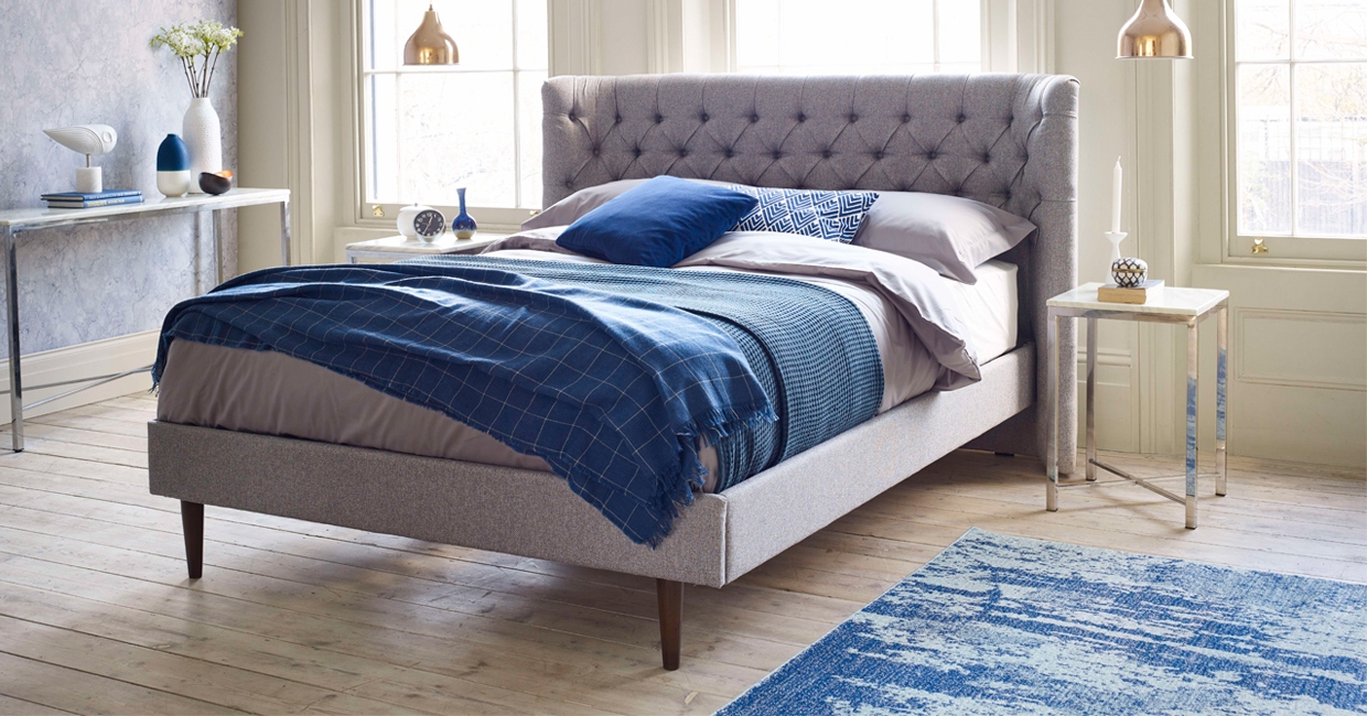 Terence conran develops exclusive bed frame for bensons for Exclusive beds