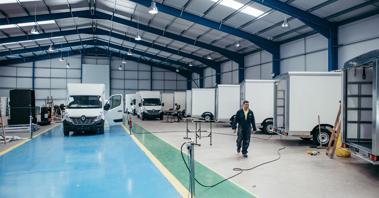 An industry-leading line of transport vehicles is continually in development at Trucksmith