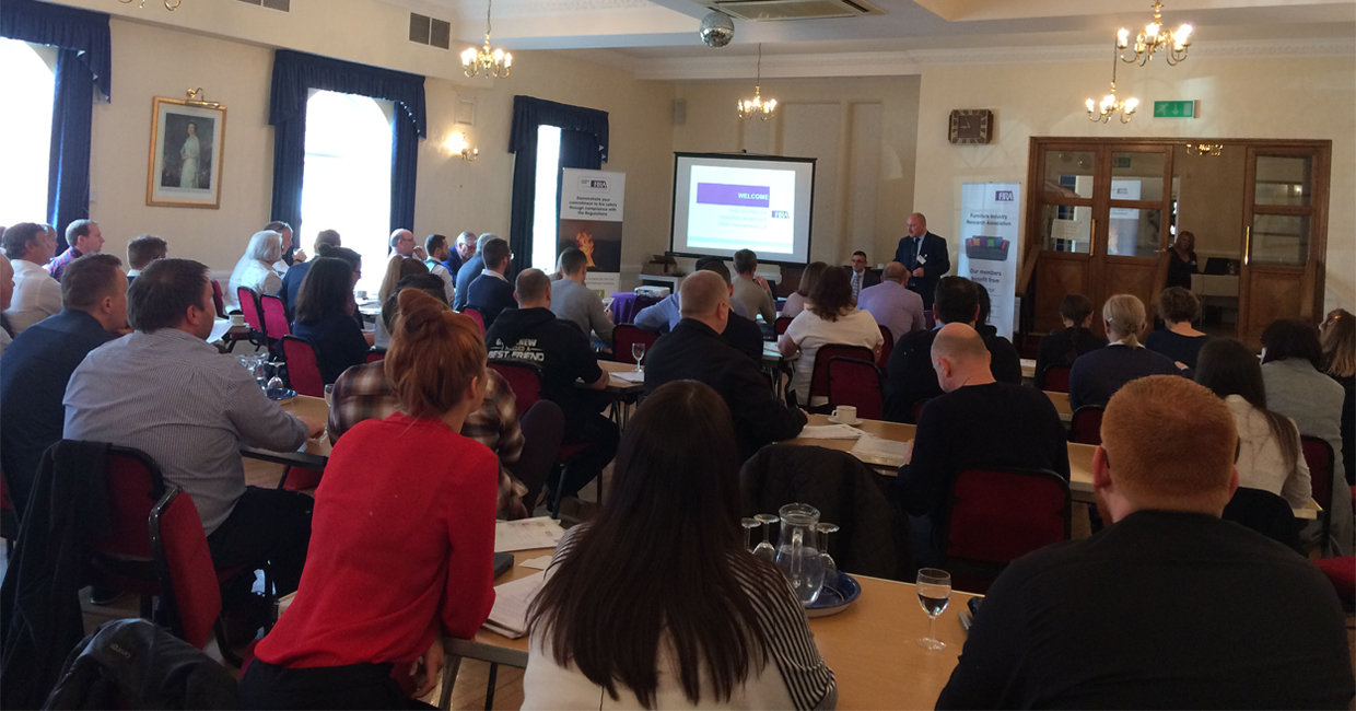 The Furniture Industry Research Association welcomed over 60 delegates