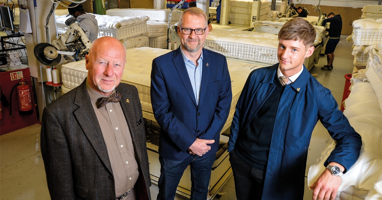 Harrison Spinks is a fifth-generation family business