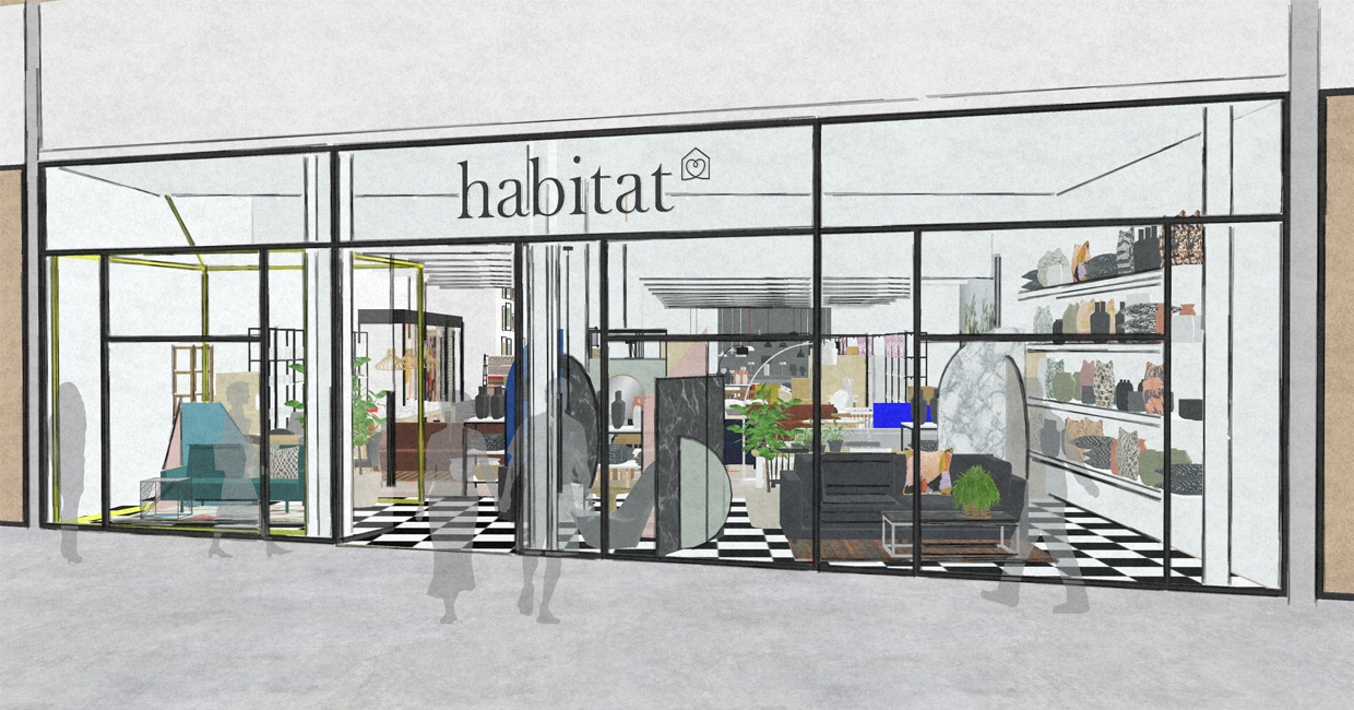 Habitat Westfield London (artist impression)