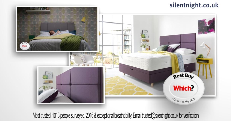Silentnight's Sky AdSmart campaign image