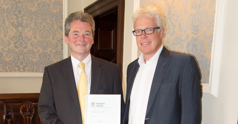 Ian Owen and Ben Burbidge, Manufacturing Guild Mark chairman