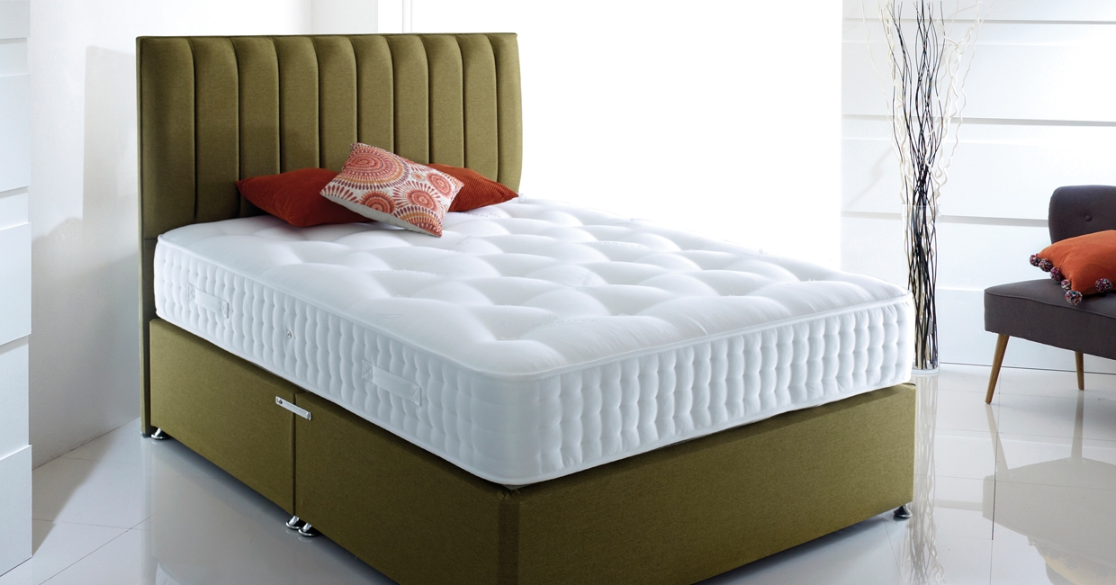 Highgrove Beds Group's Anniversary mattress was unveiled last year to mark the company's 15th year